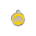Yellow Kitten Pet Tag