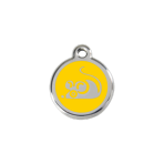 Yellow Mouse Pet Tag