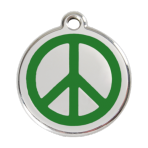 Green Peace Pet Tag