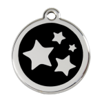 Black Star Pet Tag