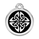Black Tribal Arrows Pet Tag