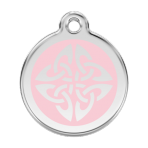 Pink Tribal Arrows Pet Tag