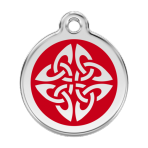 Red Tribal Arrows Pet Tag