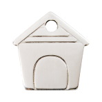 Stainless Steel Dog House Pet Tag