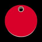 Red Circle Pet Tag