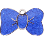 Blue Sparkle Bow Tie Large
