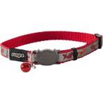 Rogz Reflecto Cat Collar 11mm - Red Fish