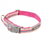 FuzzYard Cotton Candy Dog Collar