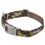 FuzzYard Maverick Camouflage Dog Collar - MEDIUM only