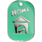 Green Home Tag Large