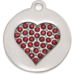Honey Bling Heart Small