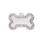 Poochy Bling Bone Pet Tag