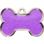 Purple Sparkle Bone Small