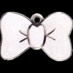 White Sparkle Bow Tie Small