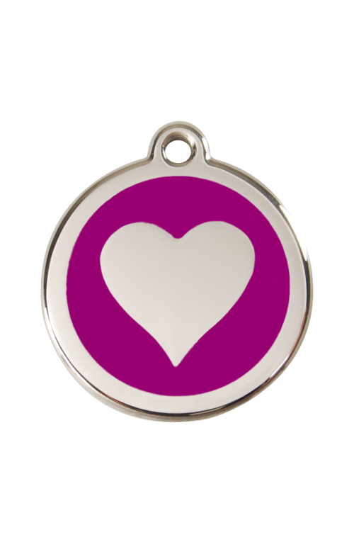 Purple Heart Pet Tag