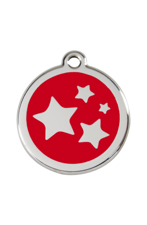 Red Star Pet Tag