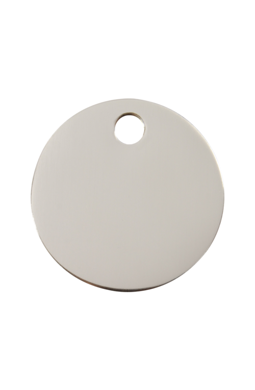 Stainless Steel Circle Pet Tag