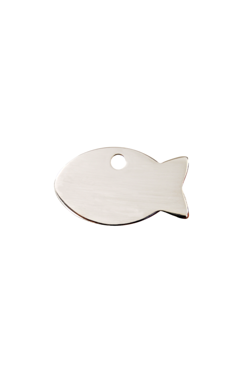 Stainless Steel Fish Pet Tag