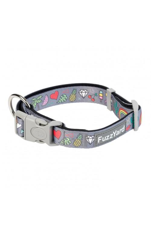 FuzzYard Coachella Dog Collar