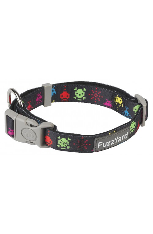FuzzYard Space Raiders Dog Collar