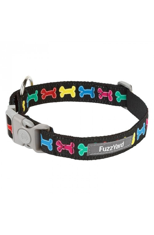 FuzzYard Jelly Bones Dog Collar - MEDIUM ONLY