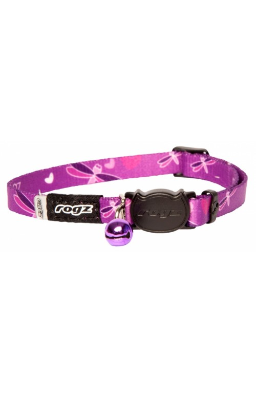 Rogz Kiddy Cat Collar 11mm - Dragonfly