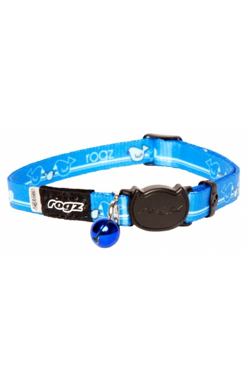 Rogz Kiddy Cat Collar 11mm - Royal Birds