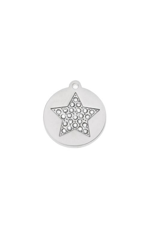 Stella Bling Round Pet Tag
