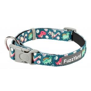 FuzzYard Dinosaur Land Dog Collar
