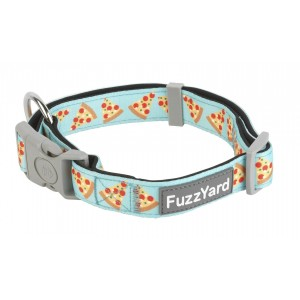 FuzzYard Pizza Lyf Dog Collar