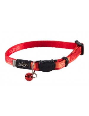 Rogz Kiddy Cat Collar 11mm - Tango Fishbones