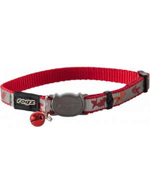 Rogz Reflecto Cat Collar 11mm - Red Fish