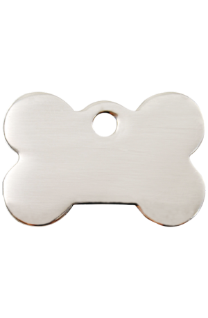Stainless Steel Bone Pet Tag