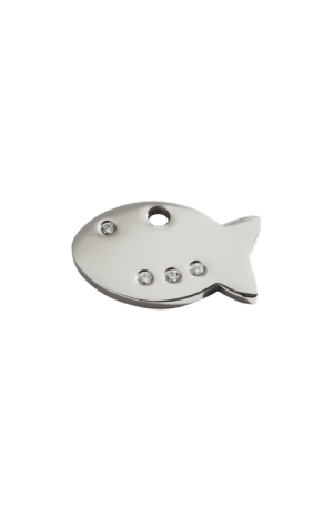 Diamante Fish Pet Tag