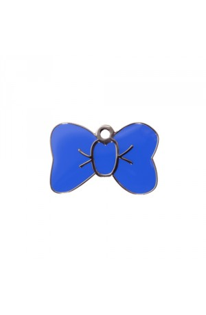 Blue Bow Tie Pet Tag