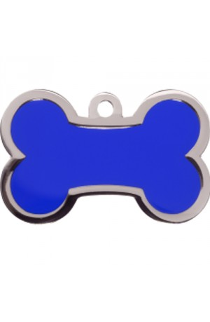 Blue Bone Pet Tag