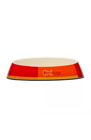 Rogz Melamine Fishcake Bowl - Tango Fishbone