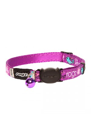 Rogz Fancy Cat Collar 11mm - Lovebirds