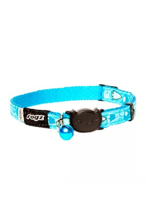 Rogz Fancy Cat Collar 11mm - Bubble Fish