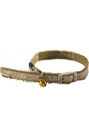 Rogz Sparkle Cat Pin Buckle Collar 11mm - Bronze