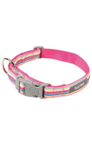 FuzzYard Cotton Candy Dog Collar - MEDIUM only