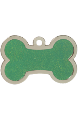 Green Sparkle Bone Large