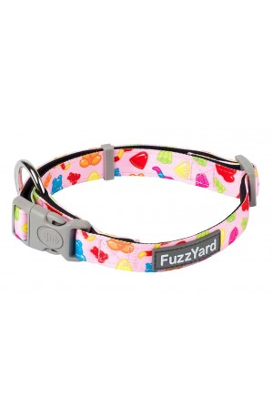 FuzzYard Jelly Bears Dog Collar