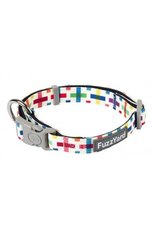 FuzzYard Jenga Dog Collar