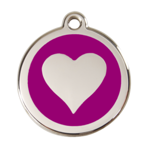 Purple Heart Pet Tag