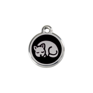 Black Kitten Pet Tag