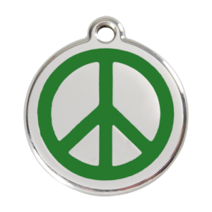 Green Peace Pet Tag