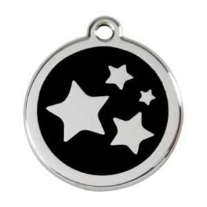 Black Star Pet Tag