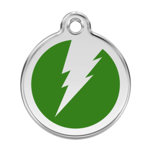 Green Flash Pet Tag