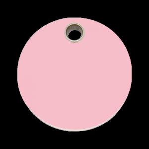Pink Circle Pet Tag